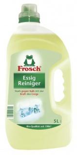 Frosch Essig Reiniger Kalklösend für Küche und Bad 15000ml 3er Pack