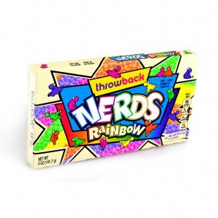Wonka Nerds Rainbow Dragees mit Frucht Geschmack 141g 12er Pack