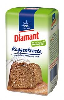 Diamant Roggenkruste Brotbackmischung 500g 6er Pack