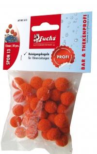 Fuchs Reinigungskugel aus Gummischwamm für 10 mm Leitungen 30 Stück