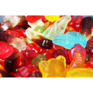 Fruchtgummi Mix ohne Zucker in 5 fruchtige Geschmacksrichtungen 1000g