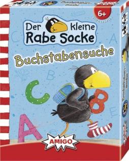 Amigo Rabe Socke Buchstabensuche Ein Spiel für Kinder ab 6 Jahren
