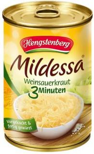 Hengstenberg Mildessa Weinsauerkraut 3 Min 350g