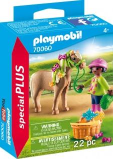 Playmobil Special Plus Mädchen mit Pony Spielfigurenset 70060