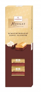Niederegger Schichtnougat cremiges sahne feinherb 100g 2er Pack