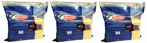 Barilla Basta Nudeln Spaghettini n. 3 Teigwaren aus Hartweizen 5000g 3er Pack