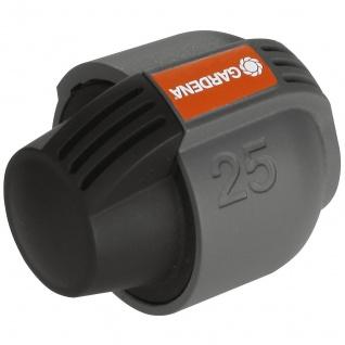 Gardena Endstück für Verlegerohr Sprinklersystem Quick Easy 25mm