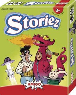 Amigo Storiez Ein spannendes Kartenspiel für die ganze Familie