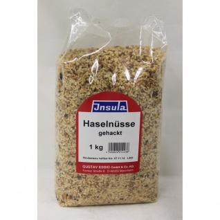 Haselnusskerne gehackt Insula zum Backen und Kochen geeignet 1000g