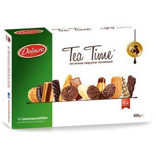Delacre Gebäckmischung Tea Time 500 g