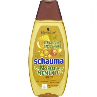 Schauma Shampoo Nature Moments Honig Elixier und Kaktusfeigenöl 400ml