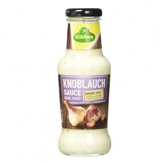 Kühne Knoblauch Sauce cremig pikant und natürlich lecker 250ml