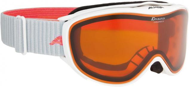 Alpina Challenge 2.0 D white flamingo Ski und Snowboardbrille