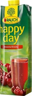 Rauch Happy Day Amarena Kirsche fruchtiger Fruchtsaft 1000ml 6er Pack
