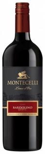 Montecelli Bardolino DOC italienischer trockener Rotwein 1000 ml