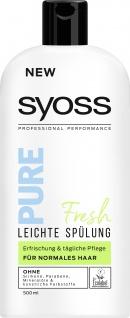 SYOSS Spülung Pure Fresh 400 ml