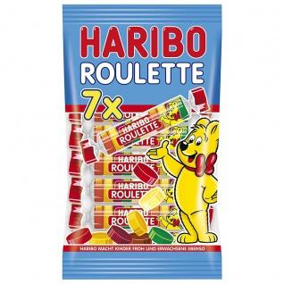Haribo Roulette Rollen 7 Rollen 10 Fruchtgummi Scheiben 175g