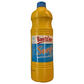 Bautz'ner - Senf mittelscharf - 1000ml