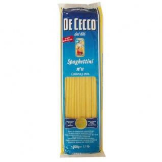De Cecco - Spaghettini N. 11 - 500 GR