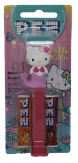 PEZ Hello Kitty Mermaid Spender mit 2 Päckchen Bonbons hellrosa 17g