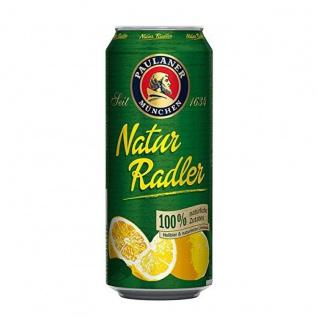Paulaner Natur Radler Hellbier und naturtrübe Limonade 500ml Dose