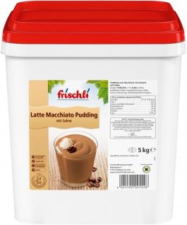 Frischli Latte Macchiato-Pudding schmeckt wie wie selbstgemacht 5000g