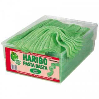 Haribo Pasta Basta Apfel Sour mit saurem Frucht-Geschmack 1125g