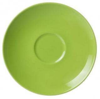 Ritzenhoff und Breker Doppio grün Kaffee Untertasse aus Porzellan