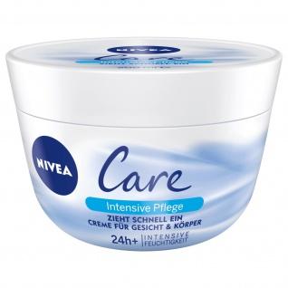 Nivea Care Intensive Pflege für Gesicht und Körper 50ml 3er Pack