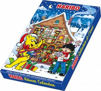 Haribo Adventskalender Passend als Geschenk für Weihnachten 300g
