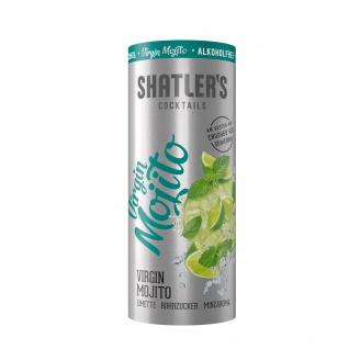 Shatlers Virgin Mojito alkoholfrei Limette Rohrzucker und Minzaroma 200ml