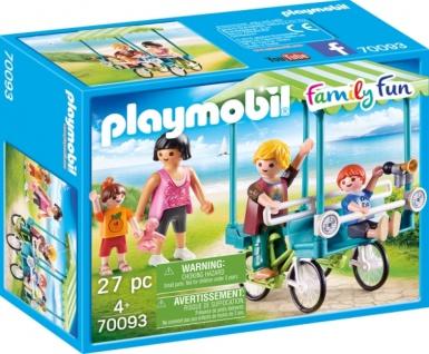 Playmobil Family Fun Familien Fahrrad Konstruktionsspiel 70093