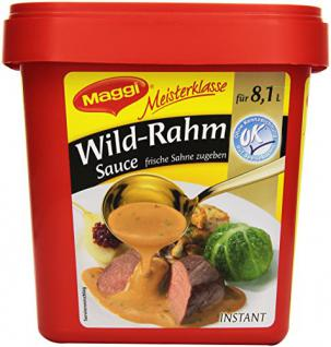 Wild-Rahm-Sauce