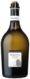 Borgo Prosecco Frizzante Spago D.O.C. leicht fruchtiger Duft feine Perlage 750ml