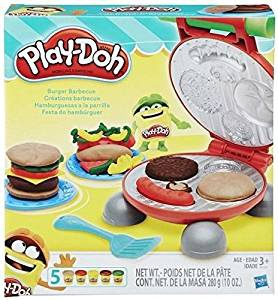 Play Doh Burger Party