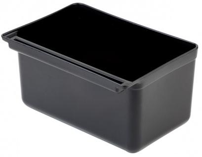 Assheuer und Pott Container aus Polypropylen Schwarz 13000ml