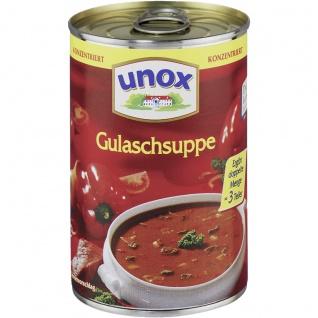 Unox Gulasch Suppe konzentriert ergibt doppelte Menge 382 ml