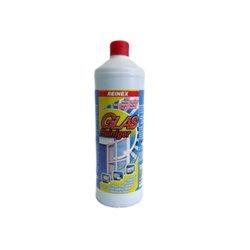 Glasreiniger Reinex Rundflasche ohne Sprühpistole 1 L Der Reinex Glasrein Glasreiniger reinigt gründlich und