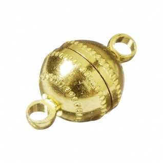 Assheuer und Pott Knorr Prandell Magnetschliesse Gold 7mm 2 Stück