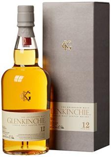 Glenkinchie 12 Jahre Single Malt Scotch Whisky (1 x 0, 7 L)