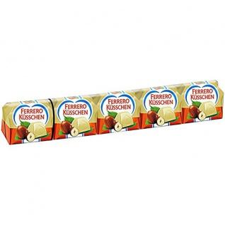 Ferrero Küsschen Pralinen, aus Schokolade und ganzer Nuss 44g