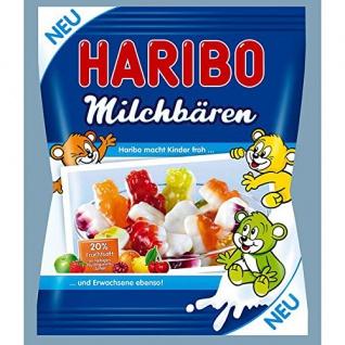 Haribo Milchbären 20% Fruchtsaft im farbigen Fruchtgummi 175g