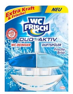 WC Frisch Duo Aktiv Reiniger Duftspüler Frische Brise Original 4er Pack
