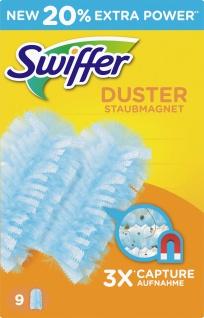 Swiffer Staubwischer Staubmagnet Nachfüllset mit 9 Swiffer Tüchern