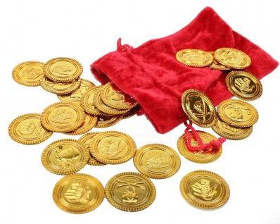 Spielgeld 36 Goldstuecke/Sack
