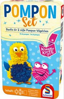 Pompon-Set Schmidt Spiele Kreativ Kiste für Kinder ab 6 Jahren