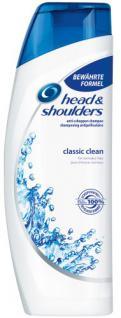 Head & Shoulders Anti-Schuppen Shampoo Classic Clean, 6er Pack (6 x 300 ml)