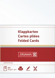 Doppelkarte A6, 160 g