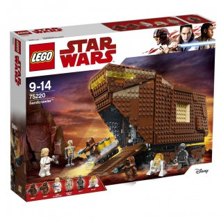 Lego Star Wars 75220 Sandcrawler Durchquere die großen Dünen