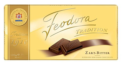 Feodora Tradition Zartbitter Tafel aus Zartbitterschokolade 100g
